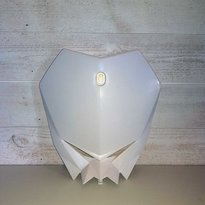 HEADLIGHT MASK MX Frontplate -WHITE-